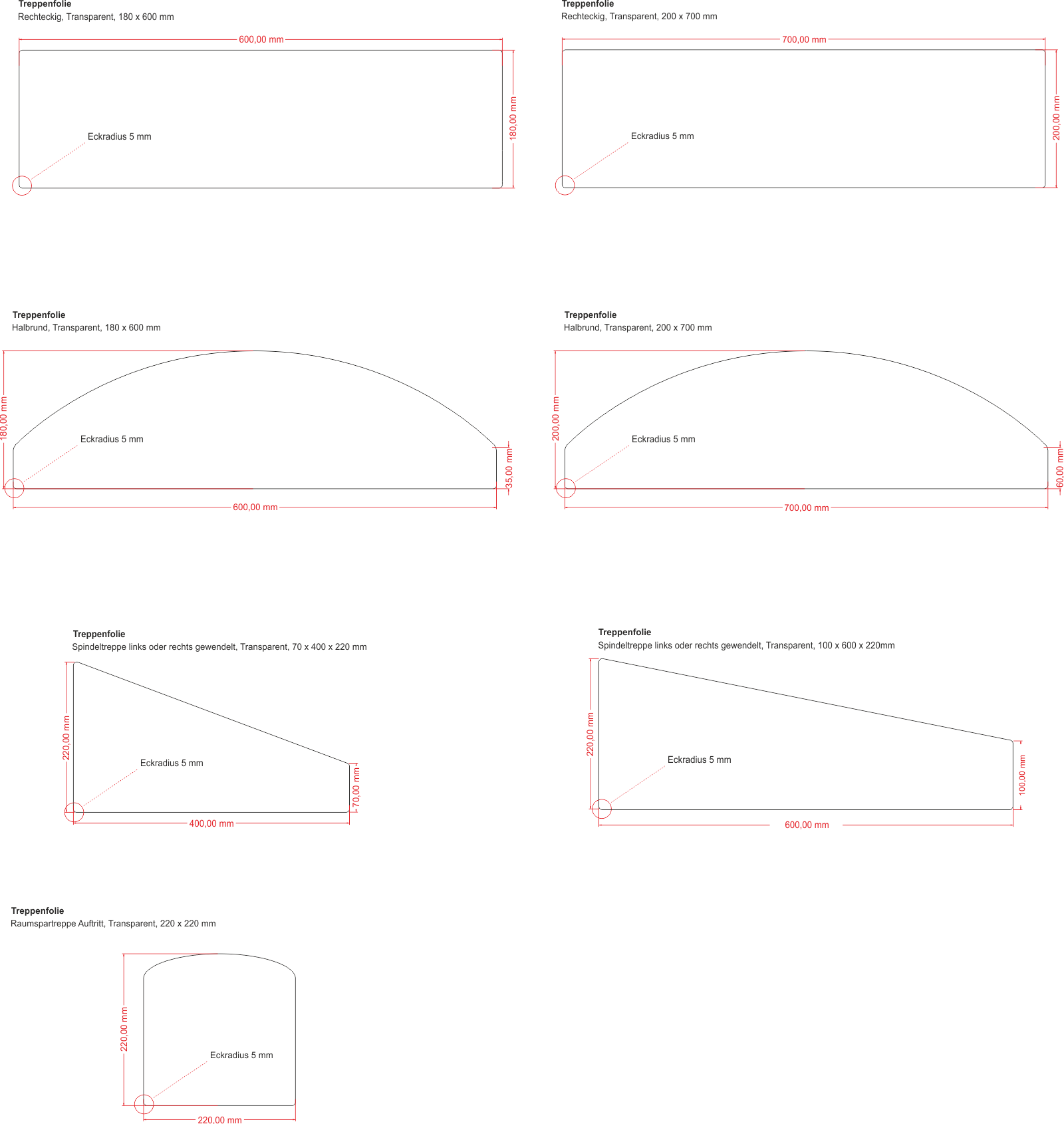hochtransparente antirutsch stufenmatten antina tapes. Black Bedroom Furniture Sets. Home Design Ideas